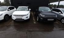 Hàng chục ô tô hạng sang liên quan nghi án rửa tiền bị thu giữ