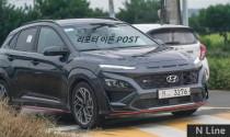 Hyundai Kona 2021, Kona N-line lộ ảnh thực tế tại Hàn Quốc: chờ ngày về Việt Nam