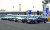 Về nước không lâu, Mercedes-Benz GLB và A35 4Matic đã được trưng dụng làm xe \'tập lái\' cho khách hàng
