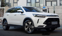 """""""Xe Tàu"""" Beijing X7 giá rẻ về Việt Nam, đối đầu Honda CR-V"""