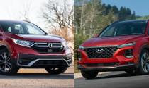 Có tầm 1 tỷ, chọn Honda CR-V hay Hyundai Santa Fe 2020?
