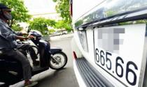 Đề xuất được mua bán biển số xe khi qua đấu giá