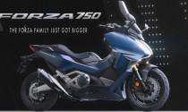 Honda Forza 750 hoàn toàn mới lột xác thiết kế cùng hàng loạt mới công nghệ