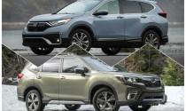 So sánh Honda CR-V và Subaru Forester 2020: Cuộc cạnh tranh của tinh hoa xe Nhật