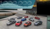 Lexus mất 30 năm để bán 1 triệu xe ở Châu Âu