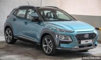 Hyundai Kona 2020 ra mắt tại Malaysia, thêm nhiều trang bị hiện đại