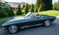 Ông Joe Biden đặc biệt yêu thích chiếc xe thể thao được bố tặng