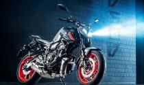 Sau MT-09, phiên bản mới của Yamaha MT-07 cũng đã xuất hiện