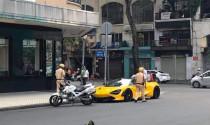 Siêu xe mui trần McLaren 720S Spider sử dụng biển giả bị phạt gần 14 triệu