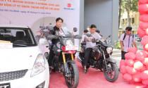 Suzuki tài trợ phương tiện cho các trường đại học, cao đẳng