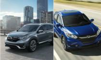 So sánh Honda HR-V và Honda CR-V 2020: Đắt hơn 200 triệu có đáng để nâng cấp?