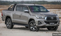 Toyota Hilux và Fortuner bị triệu hồi tại Malaysia vì lỗi trợ lực phanh