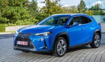 Toyota ra mắt xe Lexus UX300e chạy bằng điện tại Thái Lan