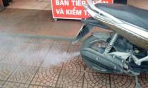Khắc phục hiện tượng xe bị khói trắng