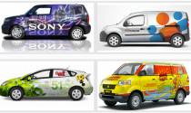 Tư vấn: Dán đề can quảng cáo thương hiệu lên xe ô tô có vi phạm không?