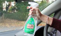 Công dụng của giấm trắng với xe hơi