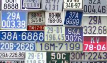 Biển số  ô tô, xe máy vi phạm bị phạt như thế nào?