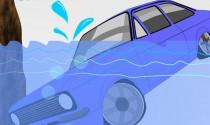 Vietsub: Kỹ năng thoát hiểm khi xe ô tô bị lao xuống nước