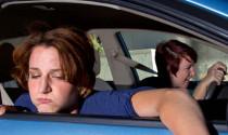Cách lái xe để hành khách không say