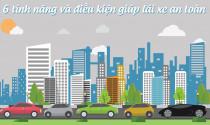 6 tính năng và điều kiện giúp lái xe an toàn