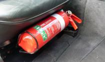 Những lưu ý đặc biệt về bình cứu hỏa trên ô tô