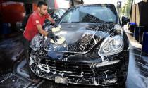 Rửa xe bằng nước rửa chén - sai lầm nên sửa