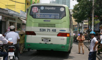 Xe buýt gây ra va quẹt sẽ bị xử phạt thế nào?
