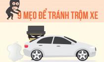 9 mẹo hay cho tài xế để tránh trộm xe
