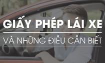 Giấy phép lái xe và những điều cần biết