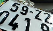 Xử phạt thế nào với hành vi sản xuất biển số xe giả?