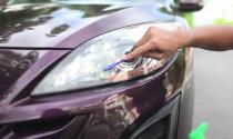 Cách khôi phục đèn pha ô tô bị mờ ngay tại nhà cận Tết