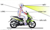 Phòng ngừa các bệnh về xương khớp với các tư thế lái xe máy cơ bản