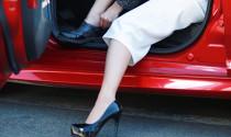 Làm thế nào để sang chảnh với giày cao gót nhưng vẫn lái xe an toàn?