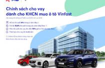 Loạt ưu đãi khi vay vốn MB mua ô tô Vinfast