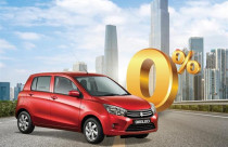 Vay mua ô-tô Suzuki với lãi suất 0% trong sáu tháng đầu tiên