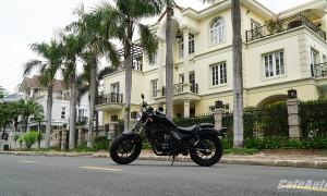 Honda Rebel 300: Đứa con lai nổi loạn dành cho tân binh