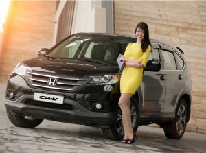 Honda CR-V đồng hành cùng người đẹp Linh Na