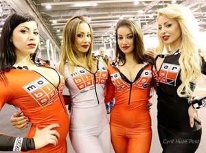 Dàn mỹ nhân hầm hố tại Motor Bike Expo 2015