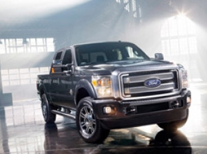 Hình ảnh Ford F-Series Super Duty Platinum 2013