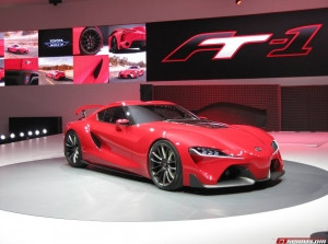 Toyota FT-1 Concept tại Detroit Auto Show 2014