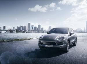 Porsche Cayenne Platinum Edition ánh bạc sang trọng