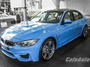 BMW M3 Sedan Yas Marina Blue