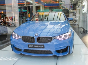 BMW M4 Coupe xanh Yas Marina Blue