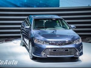 Toyota Camry 2015 ra mắt tại Việt Nam