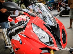 Chiêm ngưỡng BMW S1000RR 2015 màu đỏ độc tại Sài Gòn