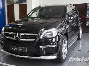 Mercedes-Benz GL 63 AMG 2015 giá 7,5 tỷ đồng