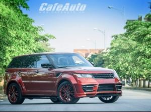 Cận cảnh hàng độc Range Rover Lumma Design tại Việt Nam