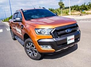 Ford Ranger WildTrak 2015: Xứng danh ông vua bán tải
