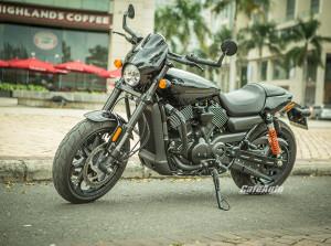 Vẻ đẹp xe cơ bắp Mỹ - Harley Streed Rod 750