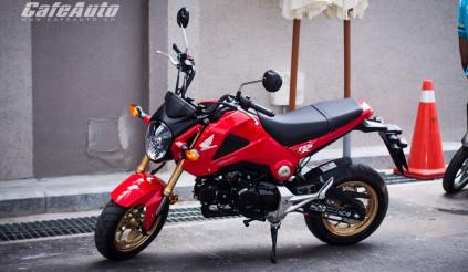 """Test """"nóng"""" Honda MSX 125cc: """"bốc"""" và cơ động"""